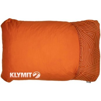 Надувная подушка KLYMIT DRIFT CAMP PILLOW REGULAR Оранжевая