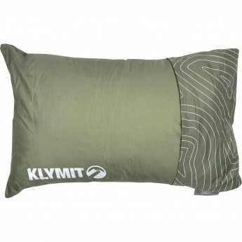 Надувная подушка KLYMIT DRIFT CAMP PILLOW REGULAR Зеленая