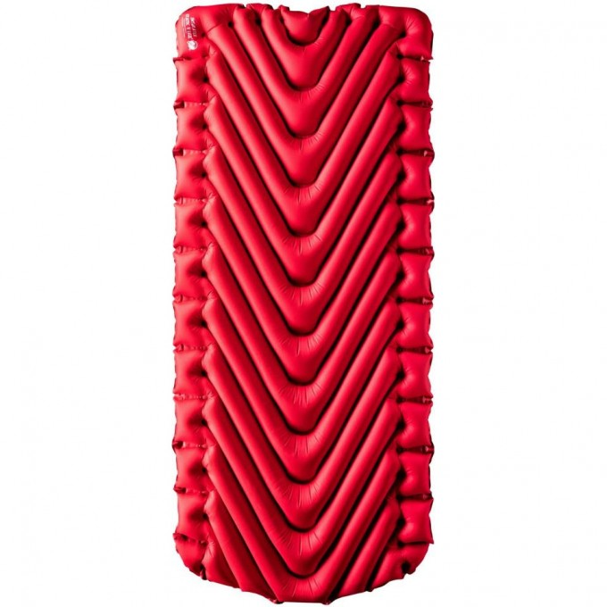 Надувной коврик KLYMIT INSULATED STATIC V LUXE PAD RED Красный 06LIRD02D